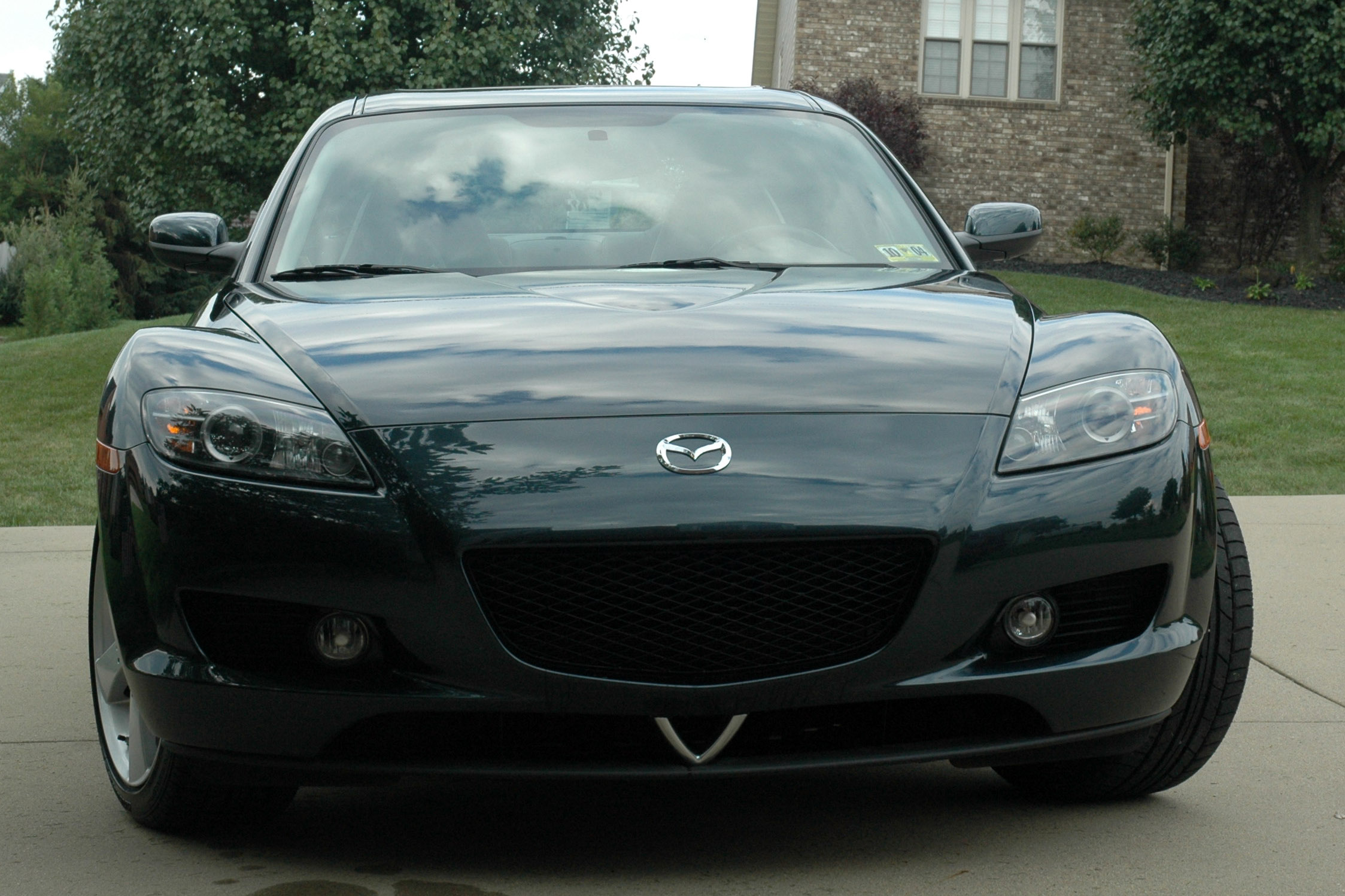 our Nordic Green 2004 RX-8 6-speed GT